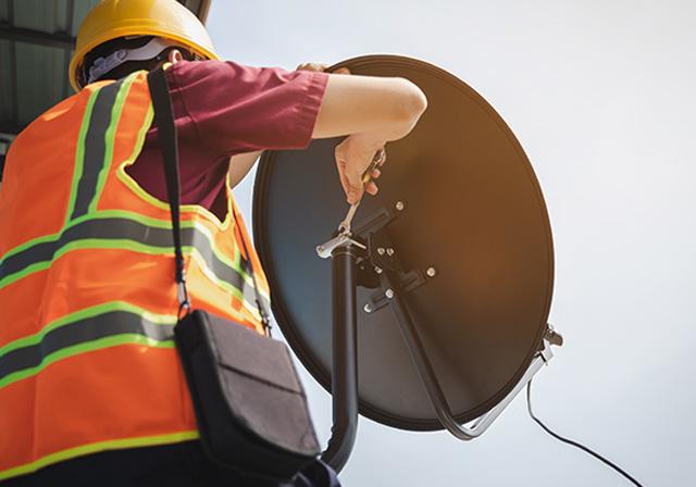 Satellite Installation team